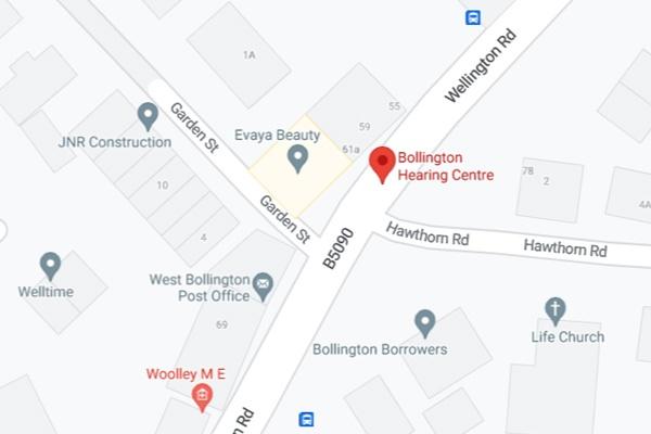 Bollington Hearing Centre - Location